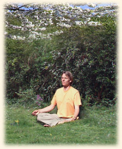 Tantra Meditation im Garten