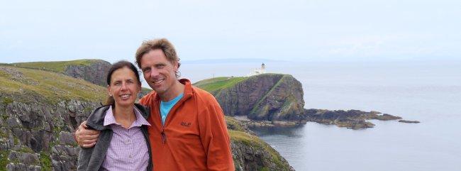 Birgit + Hartwin in Schottland