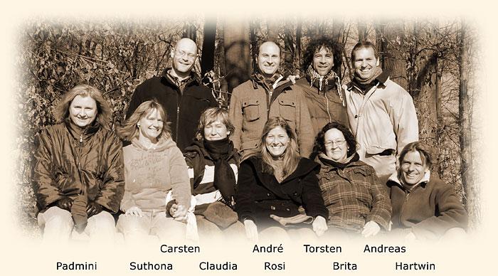 SURYA-Team, Spaziergang im Januar 2011