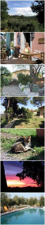 Bilder aus der Toskana: Podere Le Capannacce und Bilder vom Bodypainting