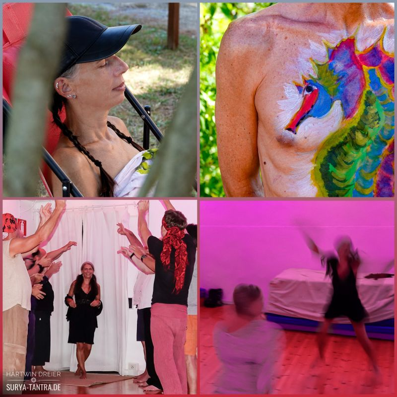 Bodypainting und Extrem Relaxing