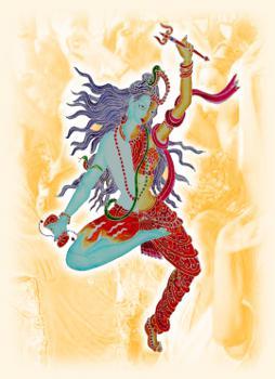 Shiva-Shakti tanzt
